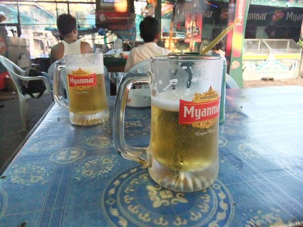 ミャンマー・ビール