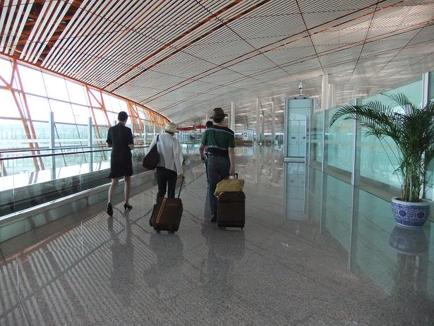 北京首都国際空港到着